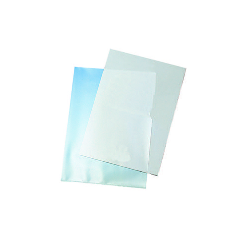 Q-Connect Cut Flush Folders A4 Clear (Pack of 100) KF24002