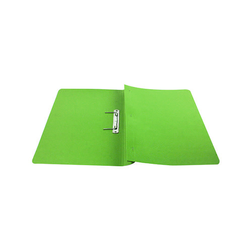 Q-Connect Transfer File 35mm Capacity Foolscap Green (Pack of 25) KF26060