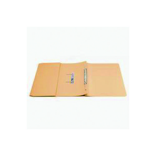 Q-Connect Transfer Pocket 35mm Capacity Foolscap File Orange (Pack of 25) KF26097