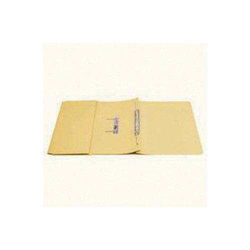 Q-Connect Transfer Pocket 35mm Capacity Foolscap File Yellow (Pack of 25) KF26099