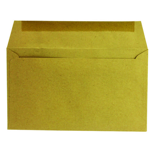 Q-Connect Envelope 89x152mm Wallet Gummed 70gsm Manilla (Pack of 1000) 721166