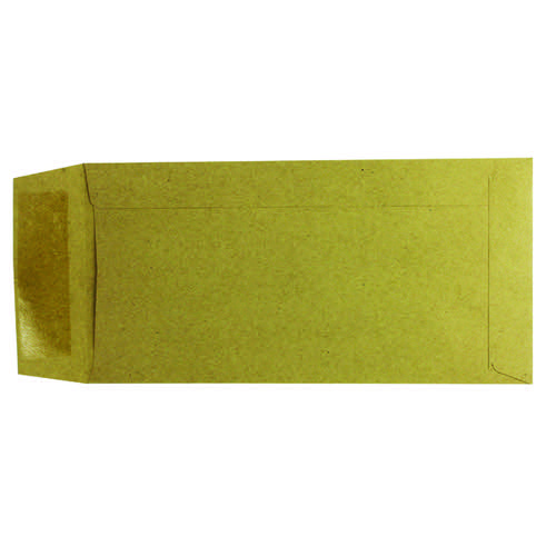 Q-Connect DL Envelopes Pocket Gummed 70gsm Manilla (Pack of 1000) KF3414