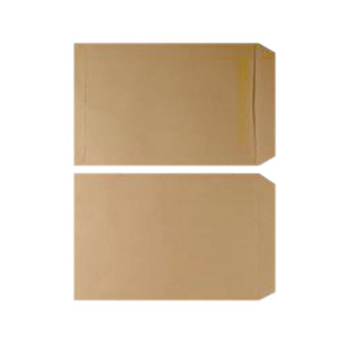 Q-Connect C5 Envelopes Pocket Gummed 70gsm Manilla (Pack of 500) KF3426