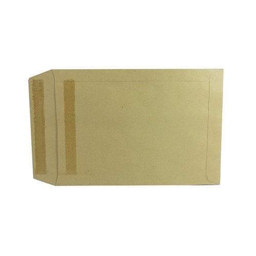 Q-Connect Envelope 254x178mm Pocket Self Seal 115gsm Manilla (Pack of 250) 8306