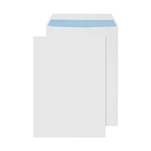 Q-Connect C4 Envelope Self Seal Plain 90gsm White (Pack of 250) 2906