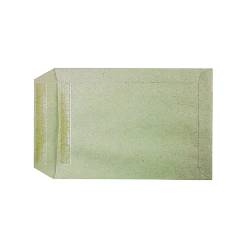 Q-Connect C5 Envelopes Pocket Self Seal 80gsm Manilla (Pack of 500) KF3516