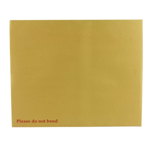 Q-Connect Envelope 394x318mm Board Back Peel and Seal 115gsm Manilla (Pack of 125) KF3522