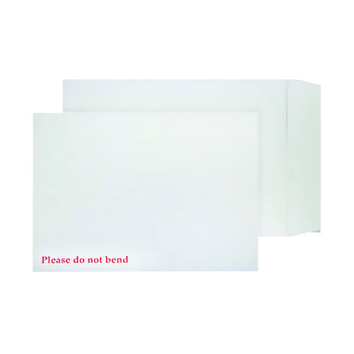 Q-Connect C4 Envelopes Board Back Peel and Seal 120gsm White (Pack of 125) KF3525