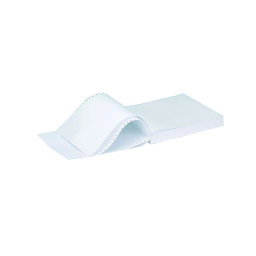 Q-Connect 11x14.5 Inches 1-Part 70gsm Music Ruled Listing Paper (Pack of 2000) KF50073 Listing Paper KF50073