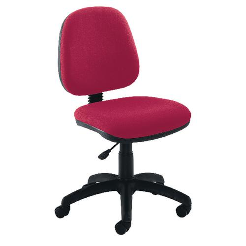 Jemini Sheaf Medium Back Operator Chairs (Adjustable back position for ergonomic use) KF50170