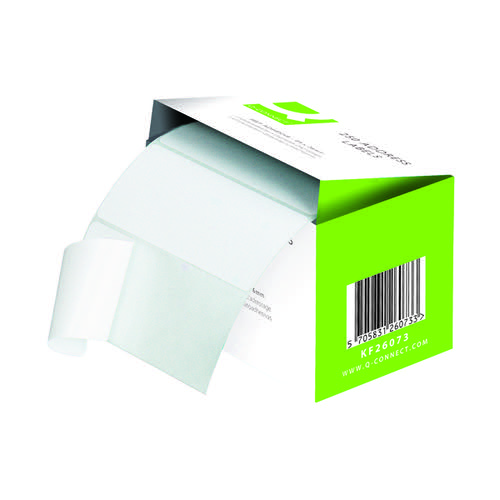 Q-Connect Address Label Roll Self Adhesive 102x49mm White (Pack of 180) 0073024