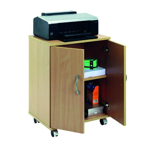 Serrion Mobile PC/Printer Stand Ferrera Oak EMPSOK