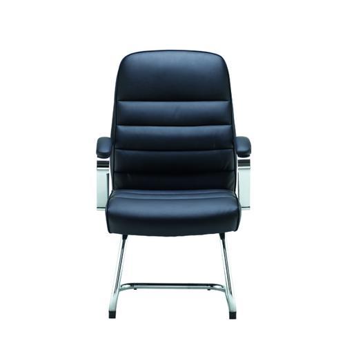 Jemini Ares Visitor Chair PU Black KF71522