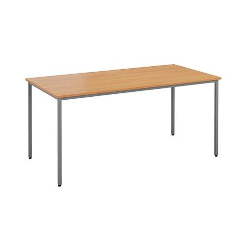 Jemini Rectangular Table 1600 x 800mm Beech OMPT1680RECBE2