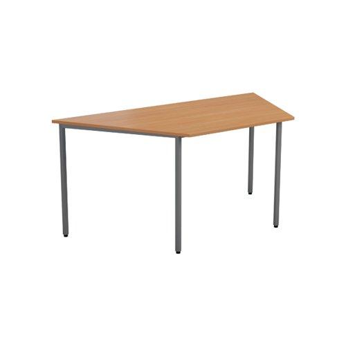 Jemini Trapezoidal Table 1600 x 800mm Nova Oak OMPT1680TRAPNO