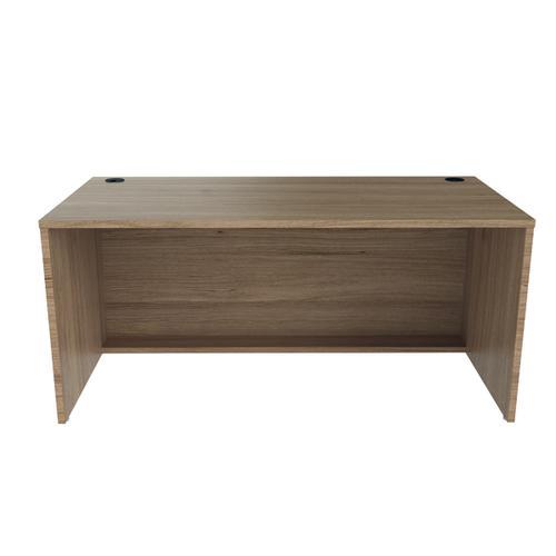 Jemini Reception Modular Desk Unit 1600mm Grey Oak RCM1600SBUGO