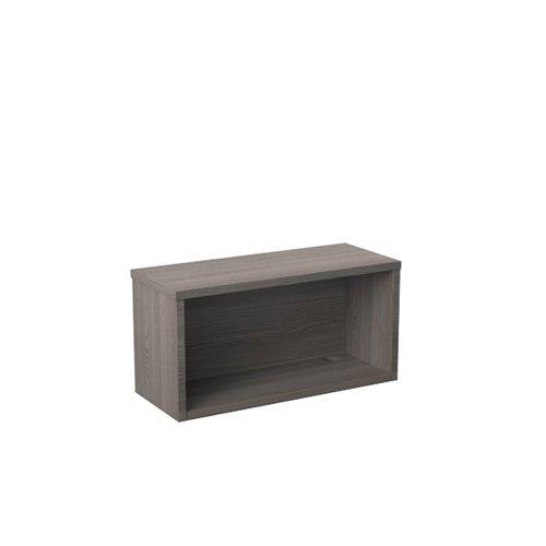 Jemini Reception Modular Riser Unit 800mm Grey Oak RCM800SHUGO