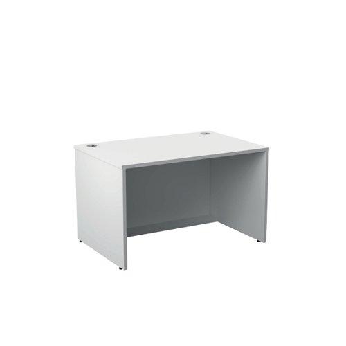 Jemini Reception Modular Desk Unit 1200mm White RCM1200SBUWH