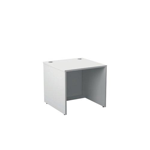 Jemini Reception Modular Desk Unit 800mm White RCM800SBUWH