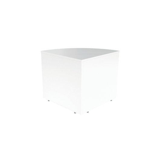 Jemini Reception Modular Corner Desk Unit White RCMCBWH