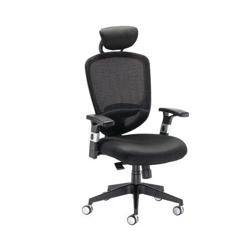 Arista Lexi High Back Chairs with Headrest KF72245