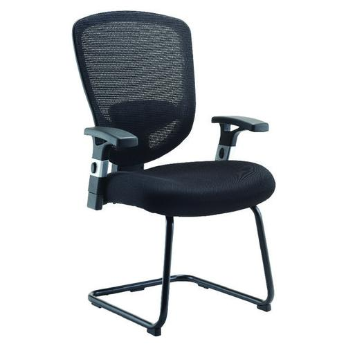 Arista Lexi Visitor Chairs Black (Seat Dimensions: W530 x D500mm) H-8006-F