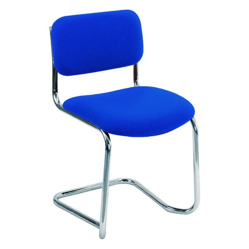 Arista Cantilever Meeting Chair Blue CH0501