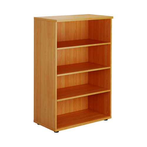 Serrion Bavarian Beech 1200mm Medium Bookcase KF73512