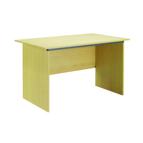 Serrion Ferrera Oak 1200mm Panel End Desk (Dimensions: W1200 x D750 x H726mm) KF73661