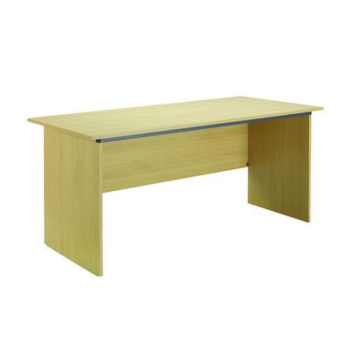 Serrion Ferrera Oak 1500mm Panel End Desk (Dimensions: W1500 x D750 x H726mm) KF73663