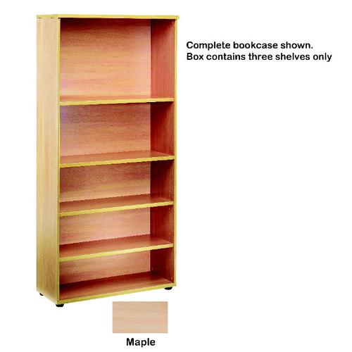 Jemini Open Storage Shelf Maple KF73715