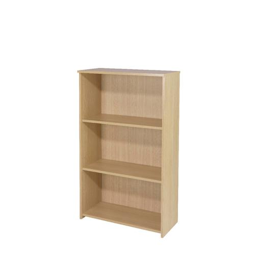 Serrion Warm Maple 1200mm Medium Bookcase (Dimensions: W740 x D340 x H1200mm) KF73834