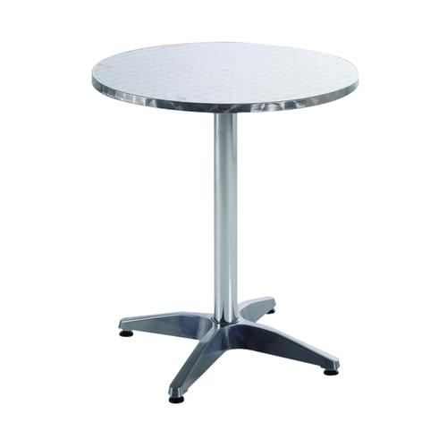 Arista Aluminium Table (W600 x D600 x H700mm) KF73901