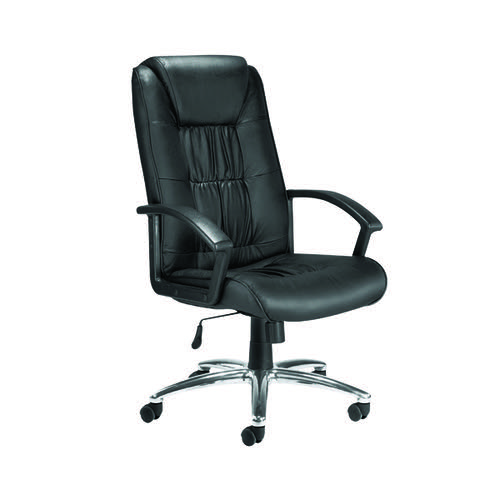 Jemini Tiber Leather Chair (For up to 8 hours usage) KF74003