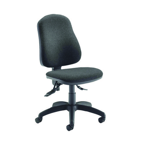 Jemini Teme Deluxe High Back Operator Chair Charcoal KF74122