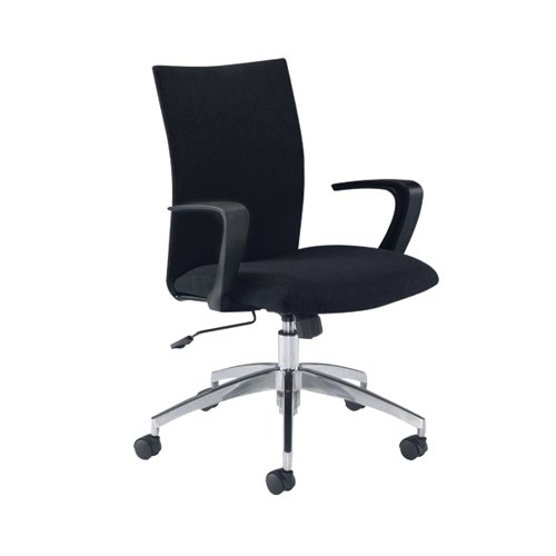 Arista Black Indus Soho Chair (Suitable for up to 5 hours) KF74824