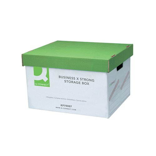 Q-Connect Business Storage Trunk Box W380xD455xH255mm (Pack of 10) KF75001