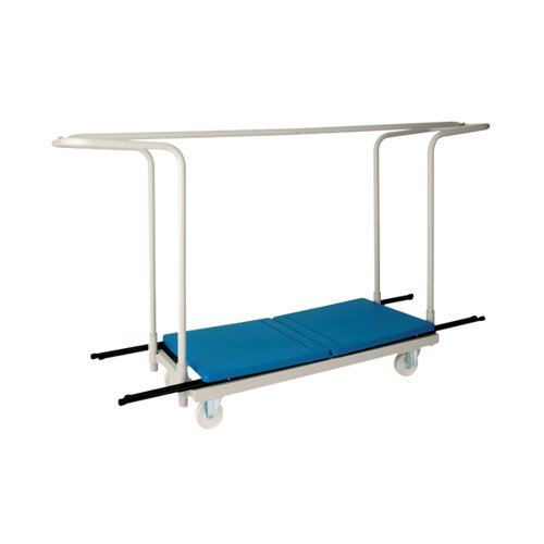Titan Folding Exam Desk Trolley 40 Capacity KF78656