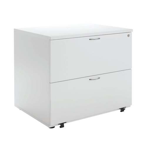 Jemini White 2 Drawer Side Filer KF78665