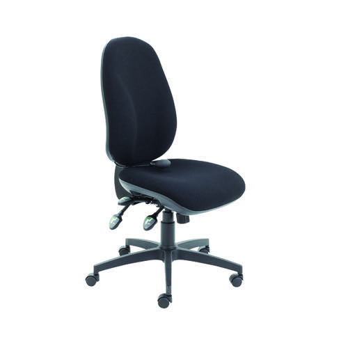 Arista Black Ergo Maxi Chairs (Suitable for up to 8 hours) KF78699