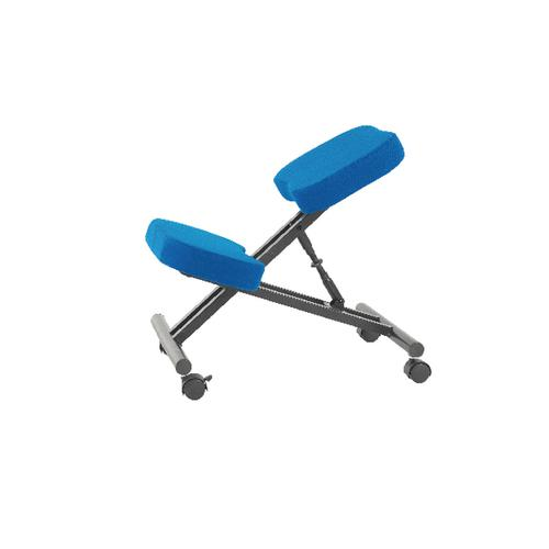 Jemini Kneeling Chair Blue (Seat Dimensions: W420 x D260mm) KF78704