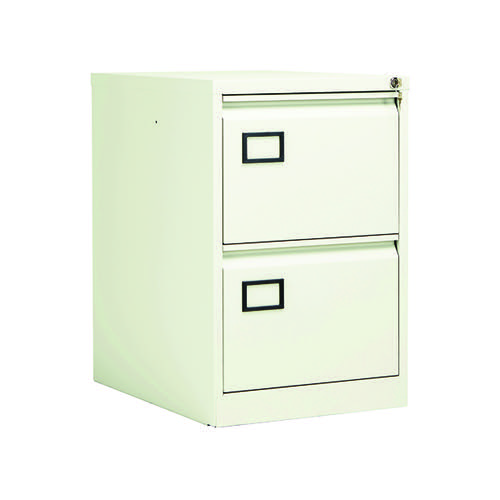 Jemini 2 Drawer Filing Cabinet White KF78706