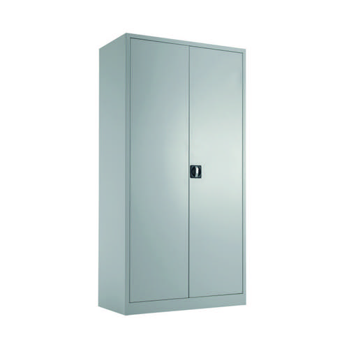 Talos Double Door Stationery Cupboard 1790 Grey KF78754