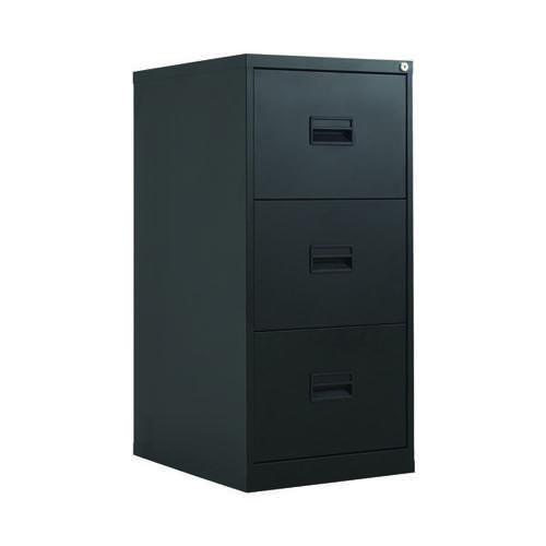 Talos 3 Drawer Filing Cabinet Black KF78766
