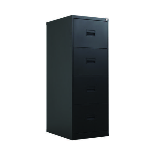 Talos 4 Drawer Filing Cabinet Black KF78770