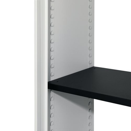 Talos Black Shelf fitment - designed for use with Talos stationery cupboards KF78775