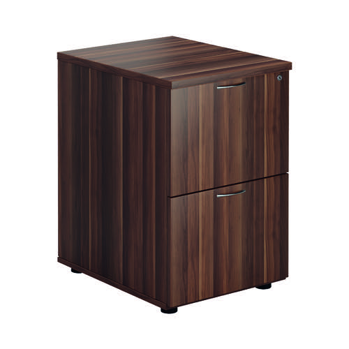 Jemini Walnut 2 Drawer Filing Cabinet KF78956
