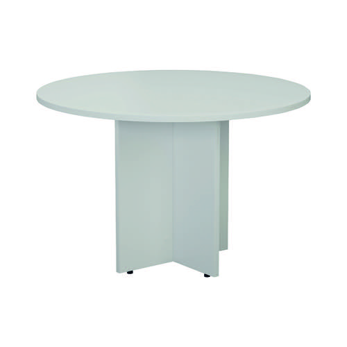 Jemini White Round D1200 Meeting Table KF78958