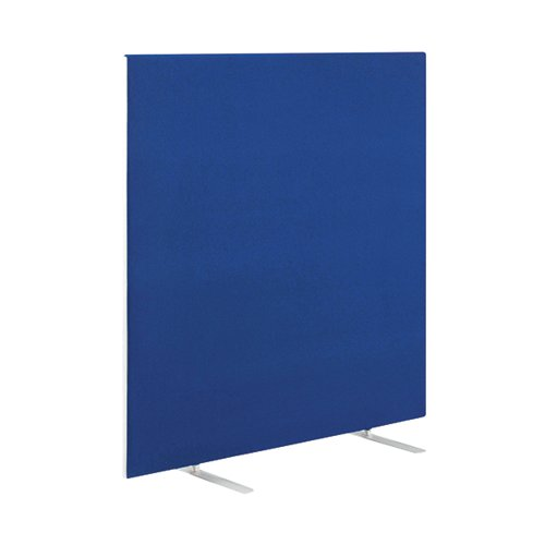 Jemini Blue 1200mm Floor Standing Screen (Dimensions: W1600 x D28 x H1200mm) KF78989