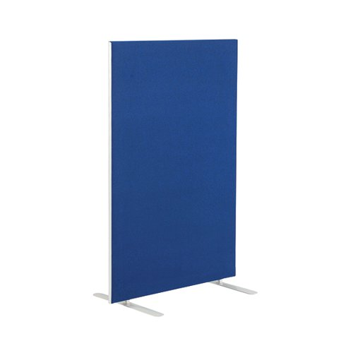 Jemini Blue 1600mm Floor Standing Screen (W1200 x D28 x H1600mm) KF78991